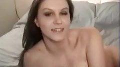 Sara Stone on her first dildo masturbation