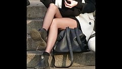 Candid Teens Nylon Pantyhose they will drive you crazy...