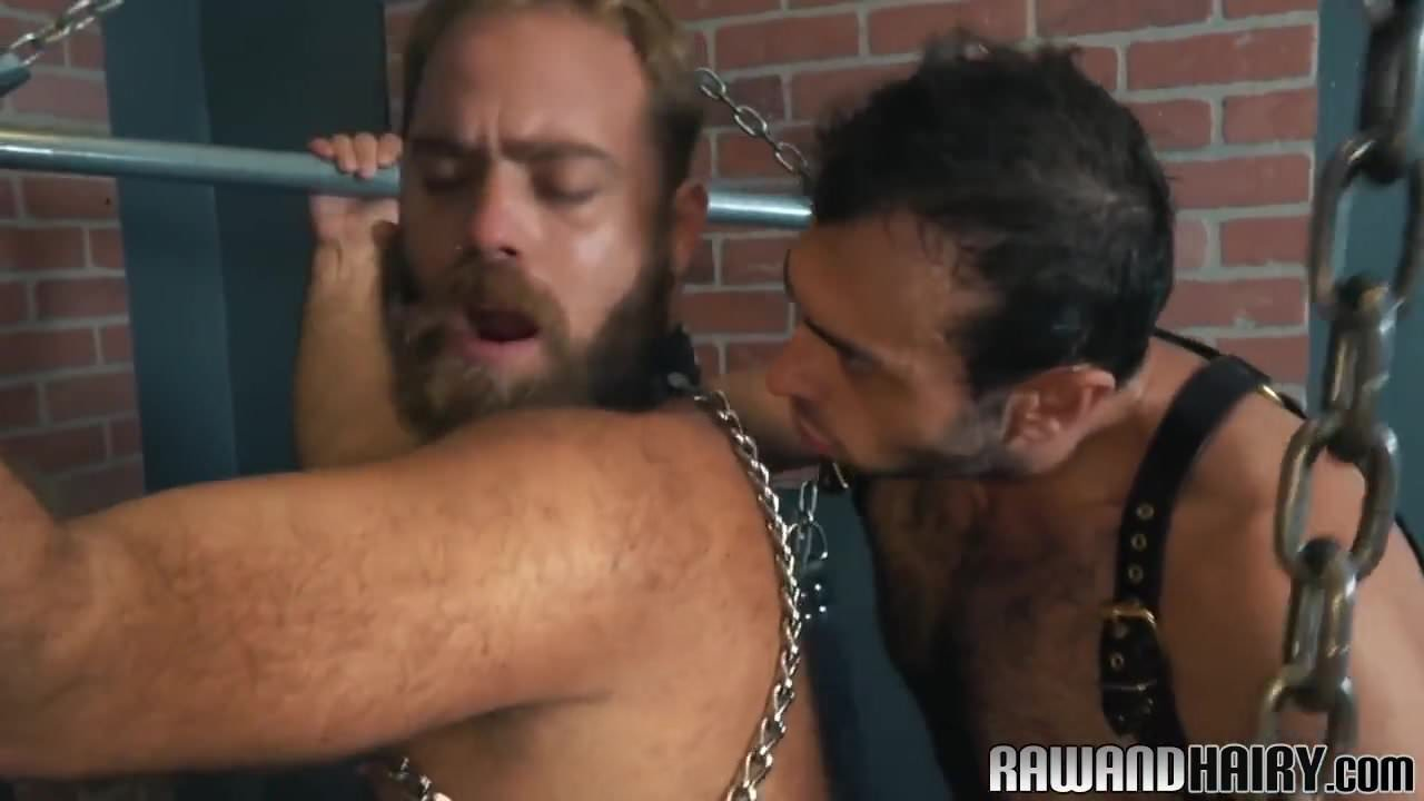 Cocksucking muscle god analfucked until cum