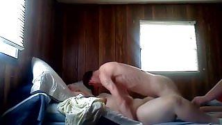 BBW Cheats with Skinny Guy Boyfriend Hangs Out