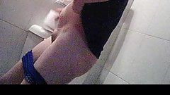 Spying my maid in the toilet 2