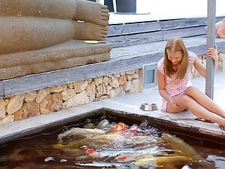 Playing With Fishes Makes Me Hunger For Anal Sex (720p)