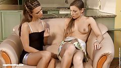 Morgan and Frida in a nice lesbian scene by Sapphic Erotica