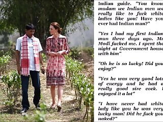 Kate Middleton gets some brown Indian dick