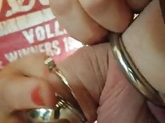 Lock up in small chastity device