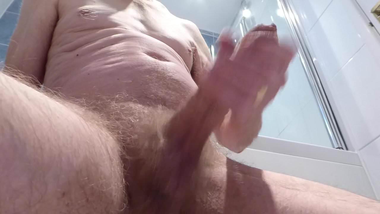 huge white uncut cock