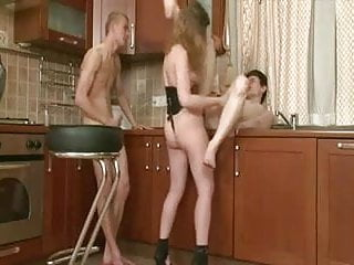 Amateur - Cuck Bareback Bisex MMF Threesome CIM Male Facial