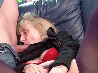 Granny enjoys anal
