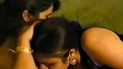 Hot and Busty Indian Mature Aunty's lesbian actions