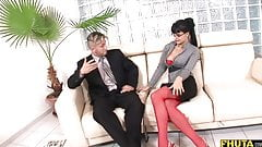 Horny Secretary Gets A Huge Bonus