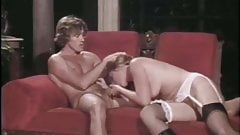 retro vintage big cock blowjob cumshot facial lingerie