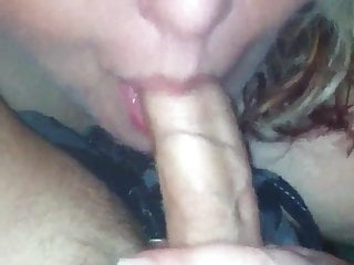 Hot BBW sucking my cock. So good!