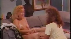 Nina Hartley and Keisha - Another old hot girl-girl scene.