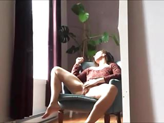 Hot Milf Caught Masturbating and Cumming on Camera
