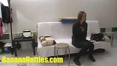 Tight teen fucks hard at the FIRST casting