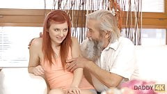 DADDY4K. Old man will never forget juicy young sissy of sons
