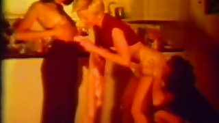 Licking Games of Hot Lesbians (1970s Vintage)