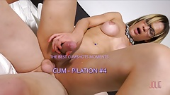 CAMILLAJOLIE SHEMALE CUMSHOTS COMPILATION #4