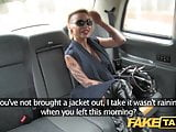 Fake Taxi Petite lady in sexy lingerie