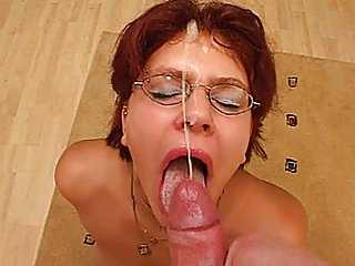 Naughty amateur redhead girlfriend huge facial cumshot