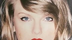 Cum tribute for Taylor Swift