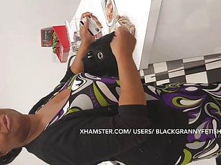 Big Ass Black Mature Upskirt
