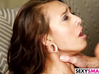 Skinny Brunette Teen Janice Griffith Gets Fucked