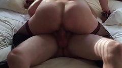 British Slut wife with stranger hubby films