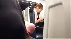 Dick flash in train