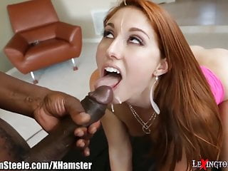 Rose Red Facialed by Lex Steele's Massive Cock