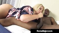 Blonde Milf Karen Fisher Gets Major Fucked By BBC Rome Major