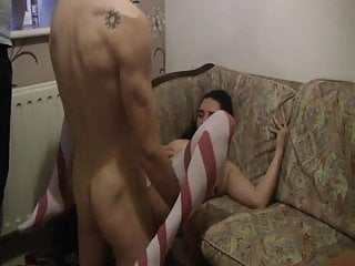18 Yr Babe Fucked By 48 Yr Fit Guy With MASSIVE Facial End