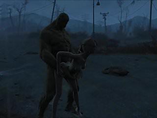 Preview 4 of Fallout 4 Katsu sex adventure chap.5 Supermutant