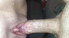 Milf squirts on cock