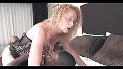 Beautiful Dirty Blonde Slut Has Fun With Black Friend.