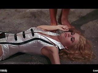 Blonde Celeb Jane Fonda Nude And Hot Striptease Scenes