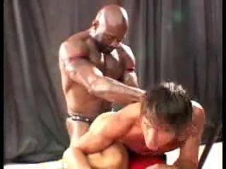 Submissive bondage nude woman