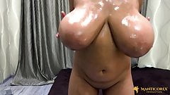 I Love Huge (light-brown) Flabby-Saggers 043