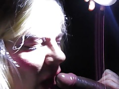 Dirty Theatre BBC Blowjob with facial by CD TV Sissy