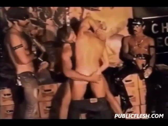Retro Gay Excessive Homosexual Fetish