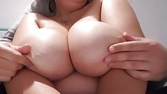 Massage on Perfect Boobs, gorgeous Amazing hot french slut