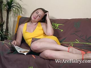 Naked on bebo - Lucia siberia strips naked on her brown couch