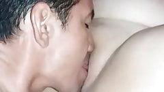 Licking a BBW