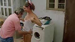 Javiera Diaz de Valdes washing machine sex scene