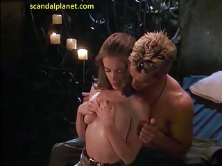 Alyssa Milano Nude Boobs In Poison Ivy  Movie