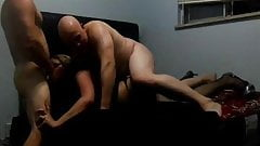 Alexia St James Tag Teamed By Two Guys