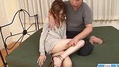 Perfect fuck for skinny hottie Mai Shirosaki