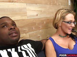 Cuckold watching Hotwife Nikki Sexx taking a BBC banging