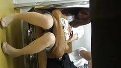ups cute lady  metro