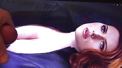 Scarlet Johansson Cum Tribute